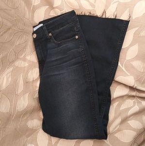 7FAMK Cropped Boot cut Jeans-NWOT